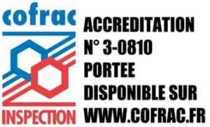 Logo Cofrac Etoiles de France