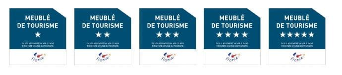 classement meubl s de tourisme etoiles de france. Black Bedroom Furniture Sets. Home Design Ideas