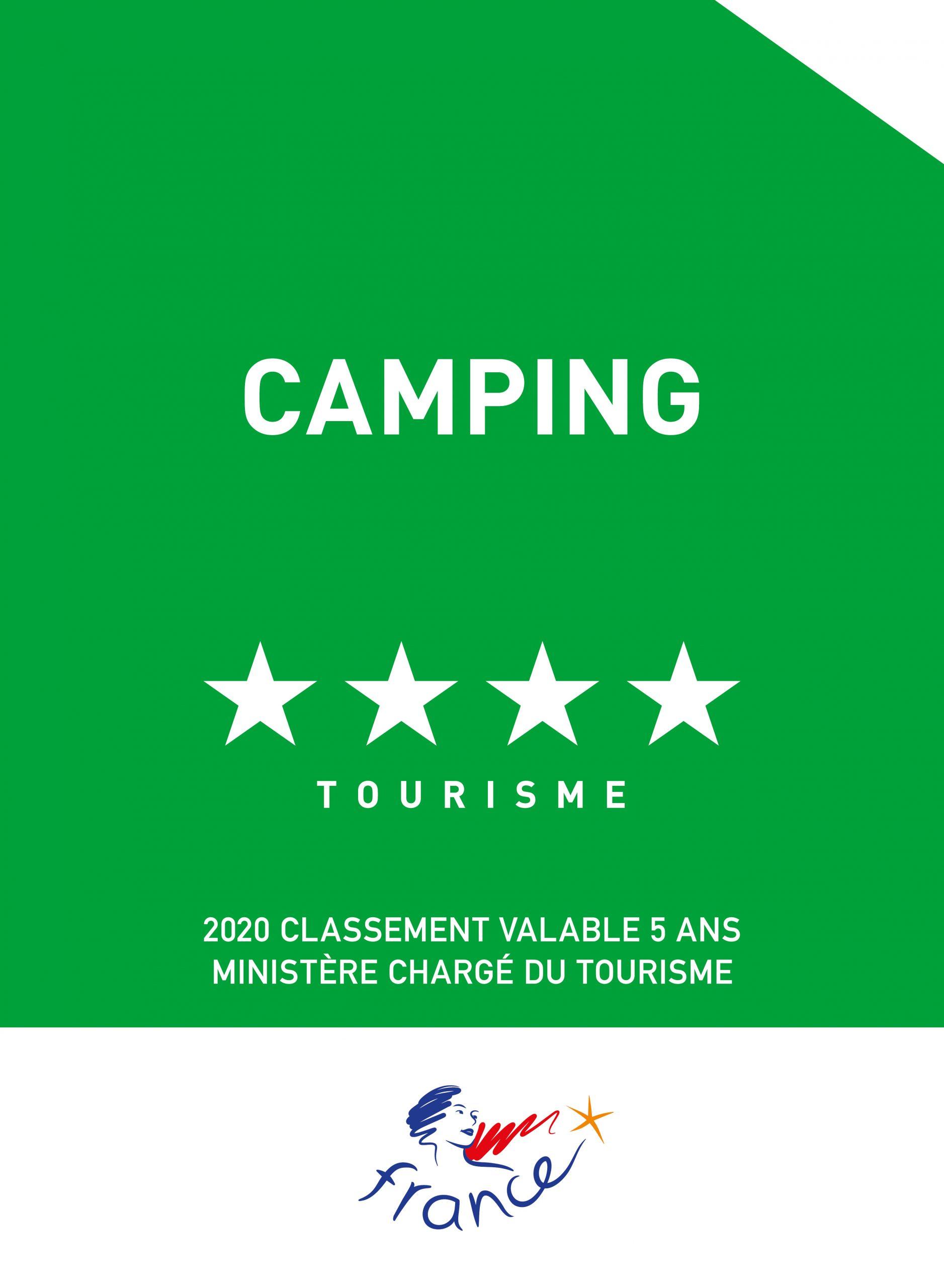 Classement Terrain de Camping